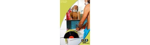 UNIKTONSAC Trousse de toilette  33 tours disque